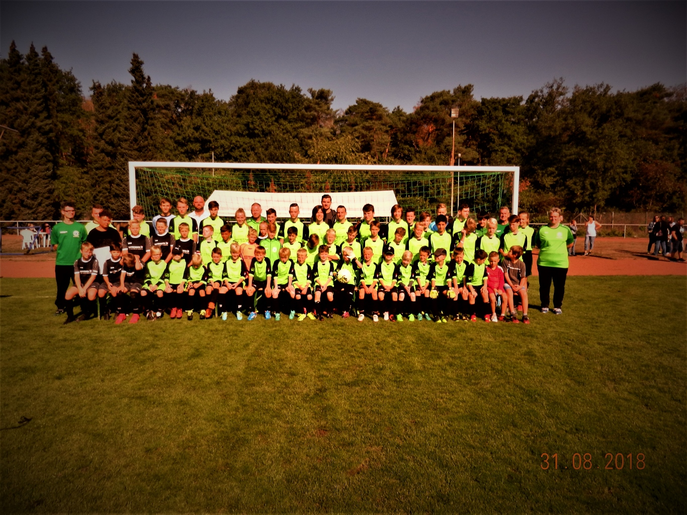 Familientag der Fußballjugend