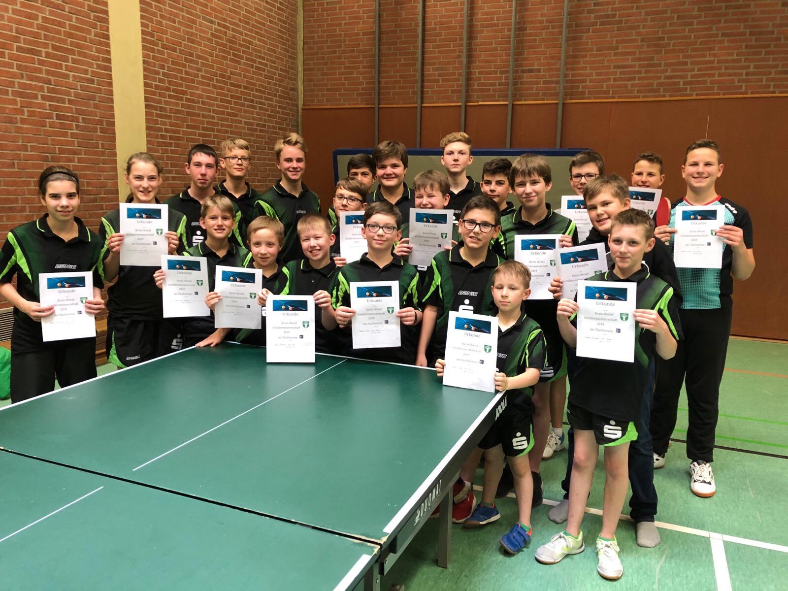 Tischtennis: Einladungsturnier in Dinslaken